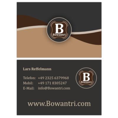 Visitenkarte von Bowantri