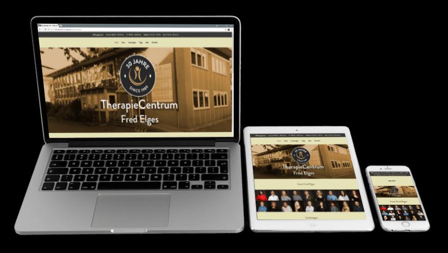 Responsive Webdesign: Wenn wir Webseiten erstellen, dann sind Sie an gängige Endgeräte wie Laptop, Tablet oder Smartphone angepasst
