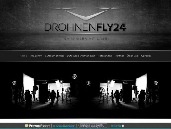 Webdesign für DrohnenFly24